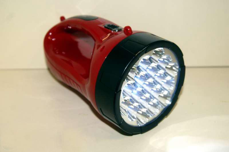 Космос фонарь-прожектор 9199led (акк